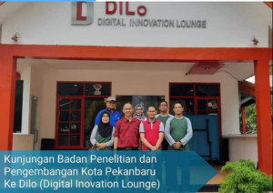 Balitbang Pekanbaru Kunjungi Digital Inovation Lounge 2