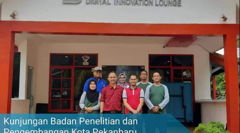 Balitbang Pekanbaru Kunjungi Digital Inovation Lounge 1